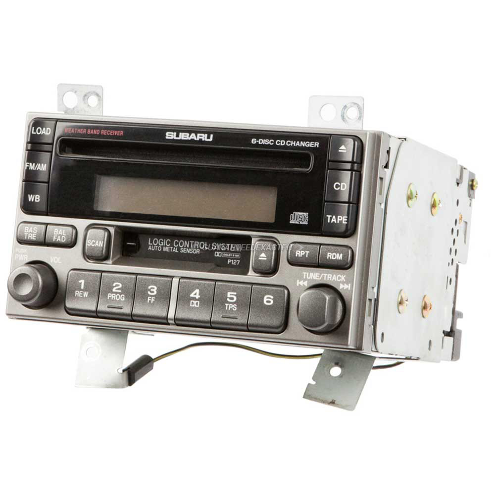 Subaru Forester                       Radio or CD PlayerRadio or CD Player