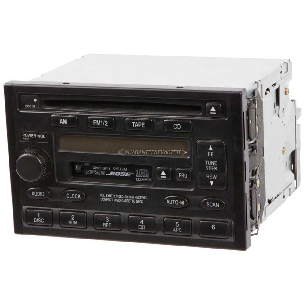 Mazda Millenia                       Radio or CD PlayerRadio or CD Player