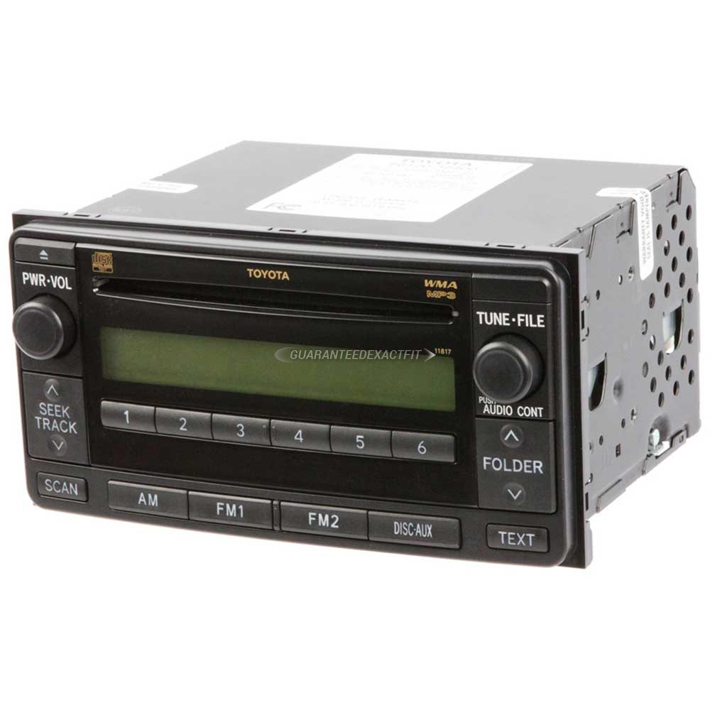 Toyota RAV4                           Radio or CD PlayerRadio or CD Player