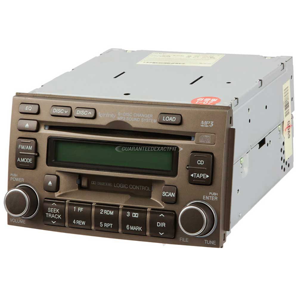 Hyundai Azera                          Radio or CD PlayerRadio or CD Player