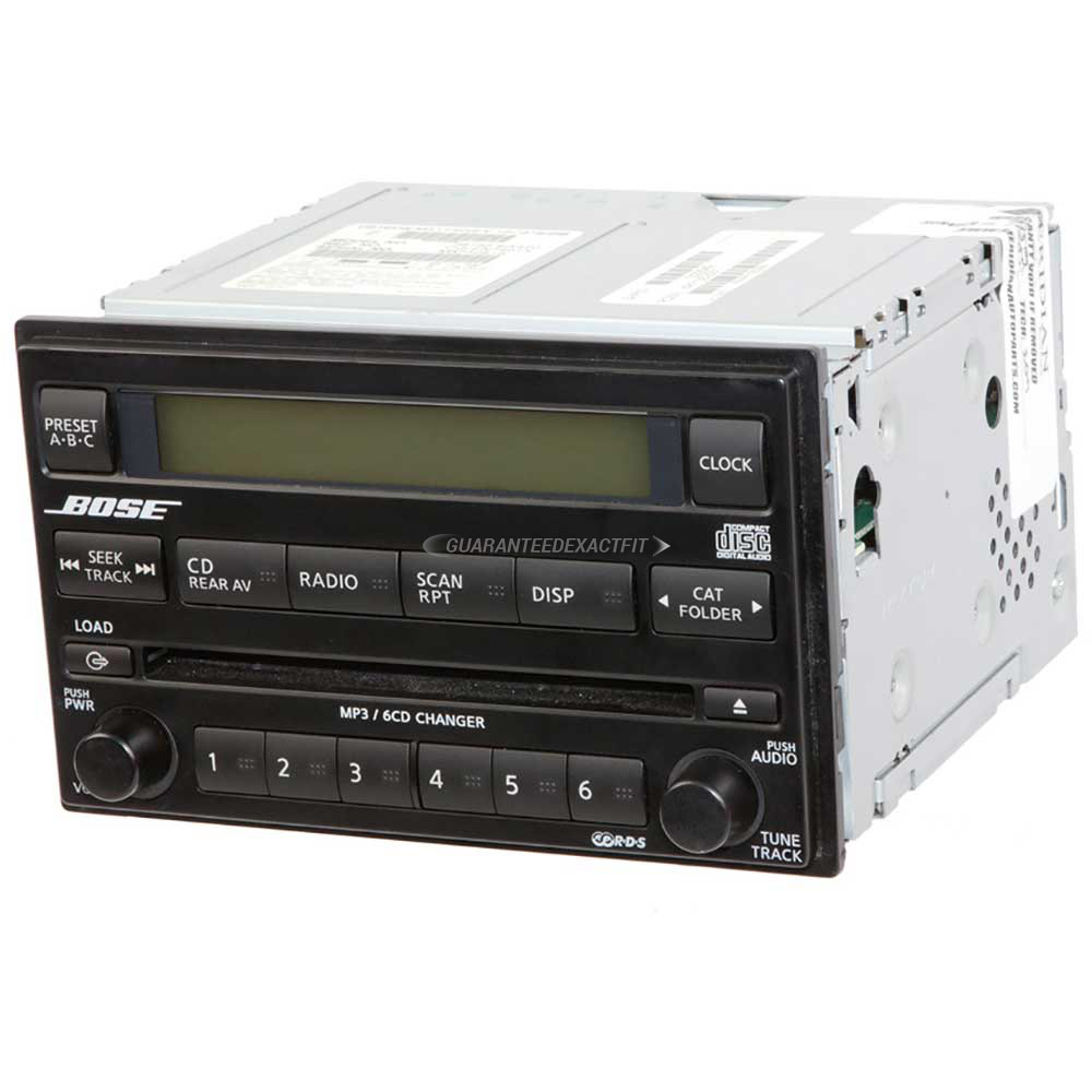 Nissan Pathfinder                     Radio or CD PlayerRadio or CD Player
