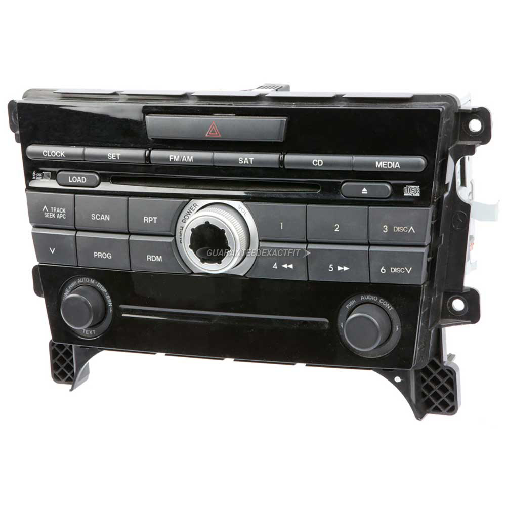 Mazda CX-7                           Radio or CD Player
