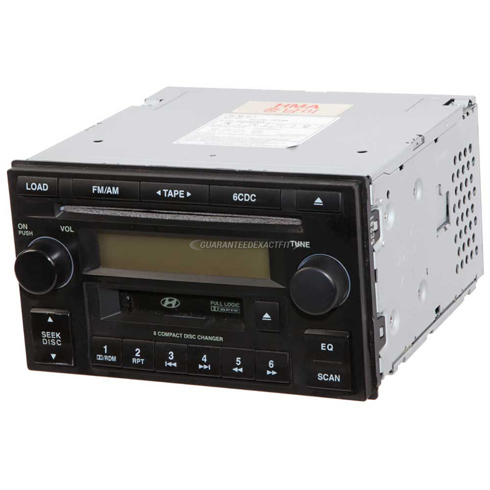 Hyundai Tucson                         Radio or CD PlayerRadio or CD Player