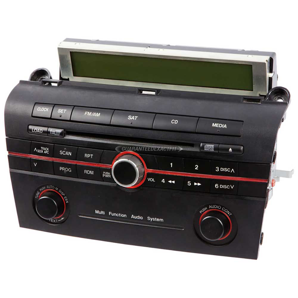 Mazda 3                              Radio or CD PlayerRadio or CD Player
