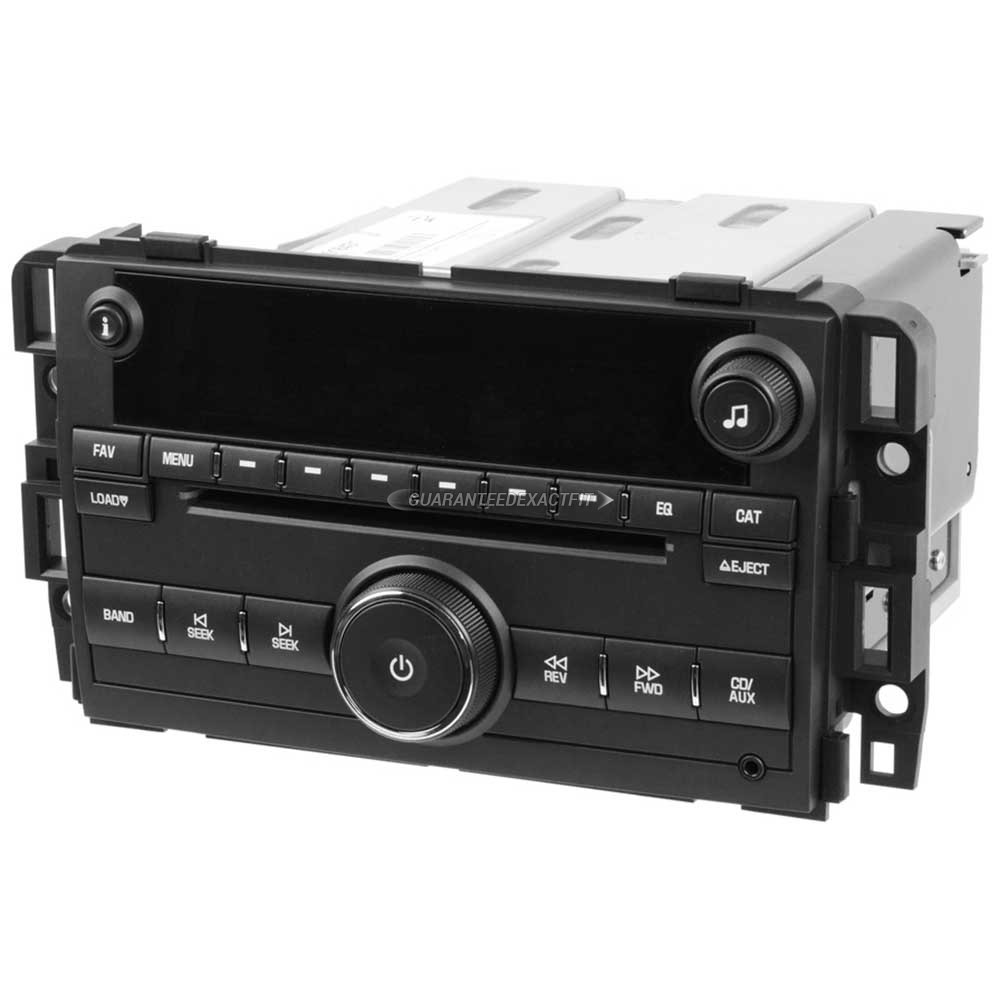 Chevrolet Tahoe                          Radio or CD PlayerRadio or CD Player