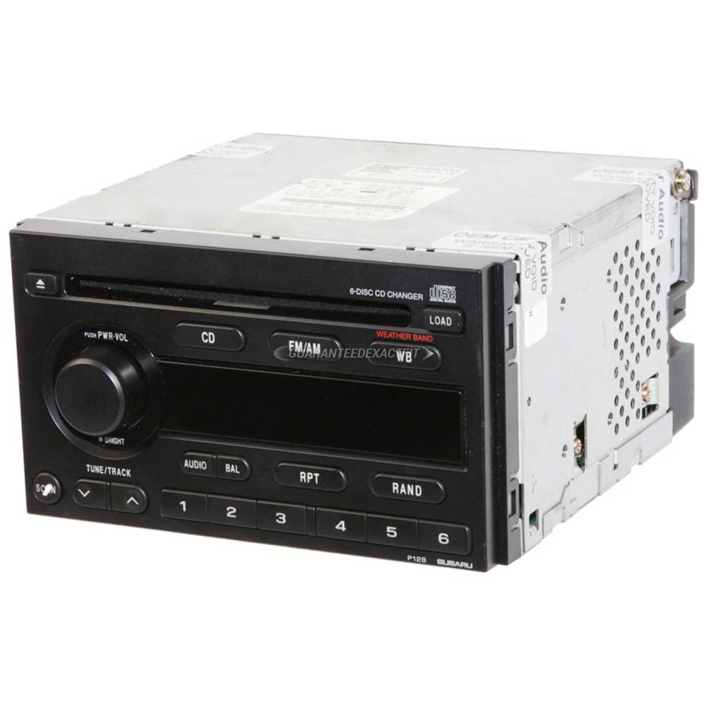 Subaru Impreza                        Radio or CD PlayerRadio or CD Player