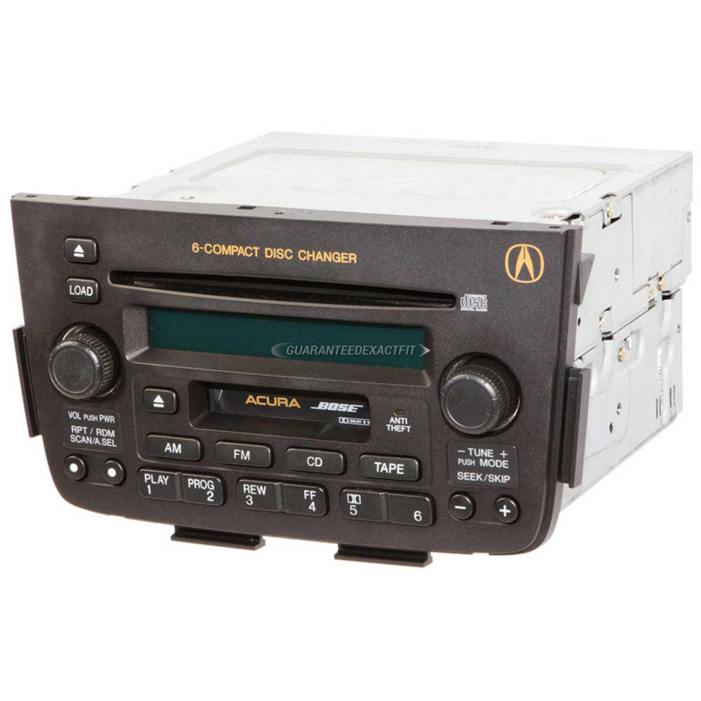 2002 Acura MDX Radio Or CD Player Parts From Car Parts