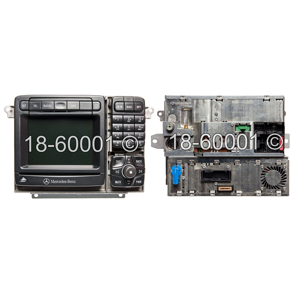 Mercedes_Benz S430                           Navigation UnitNavigation Unit