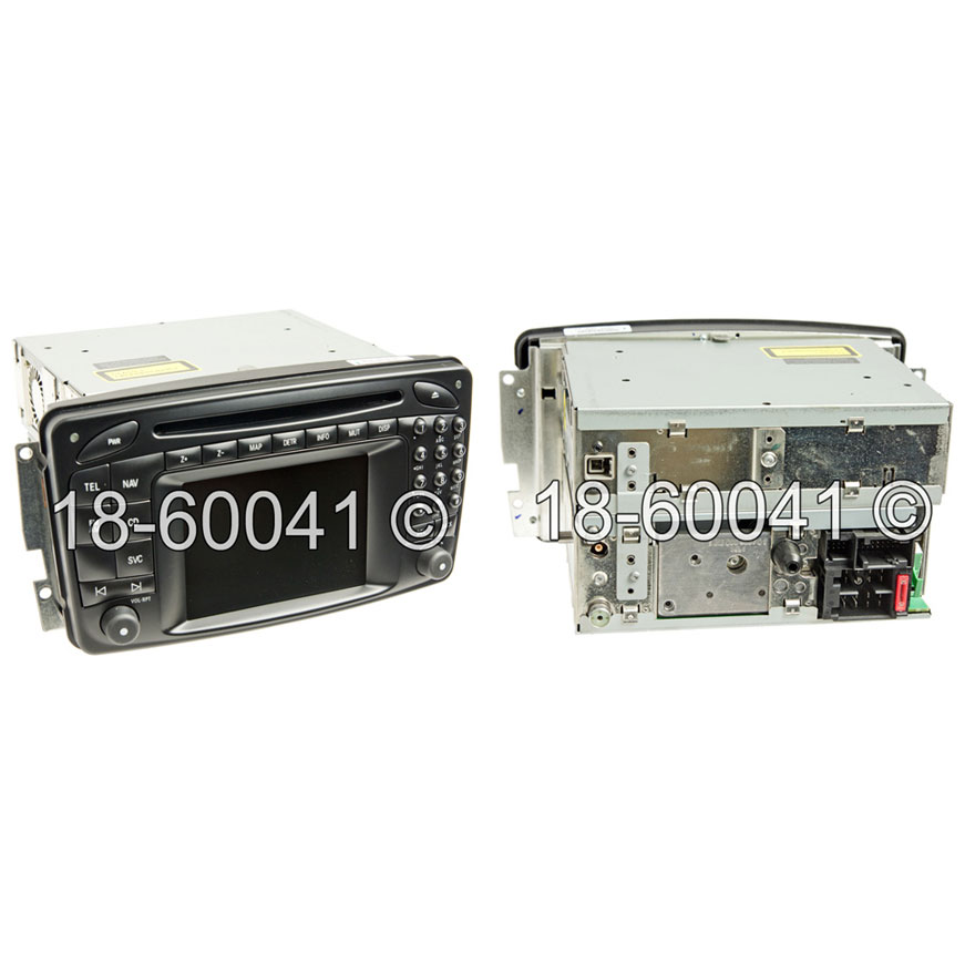 Mercedes_Benz CLK550                         Navigation UnitNavigation Unit