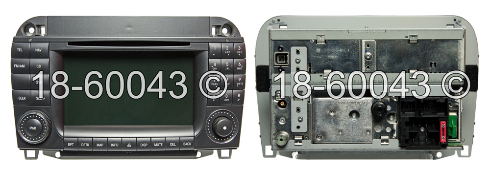 Mercedes_Benz CL600                          Navigation UnitNavigation Unit