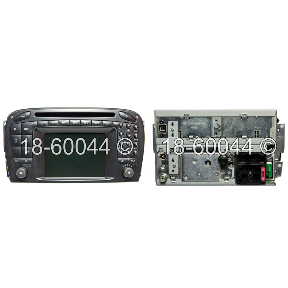 Mercedes_Benz SL55 AMG                       Navigation UnitNavigation Unit