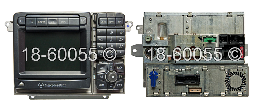 Mercedes_Benz CL500                          Navigation UnitNavigation Unit