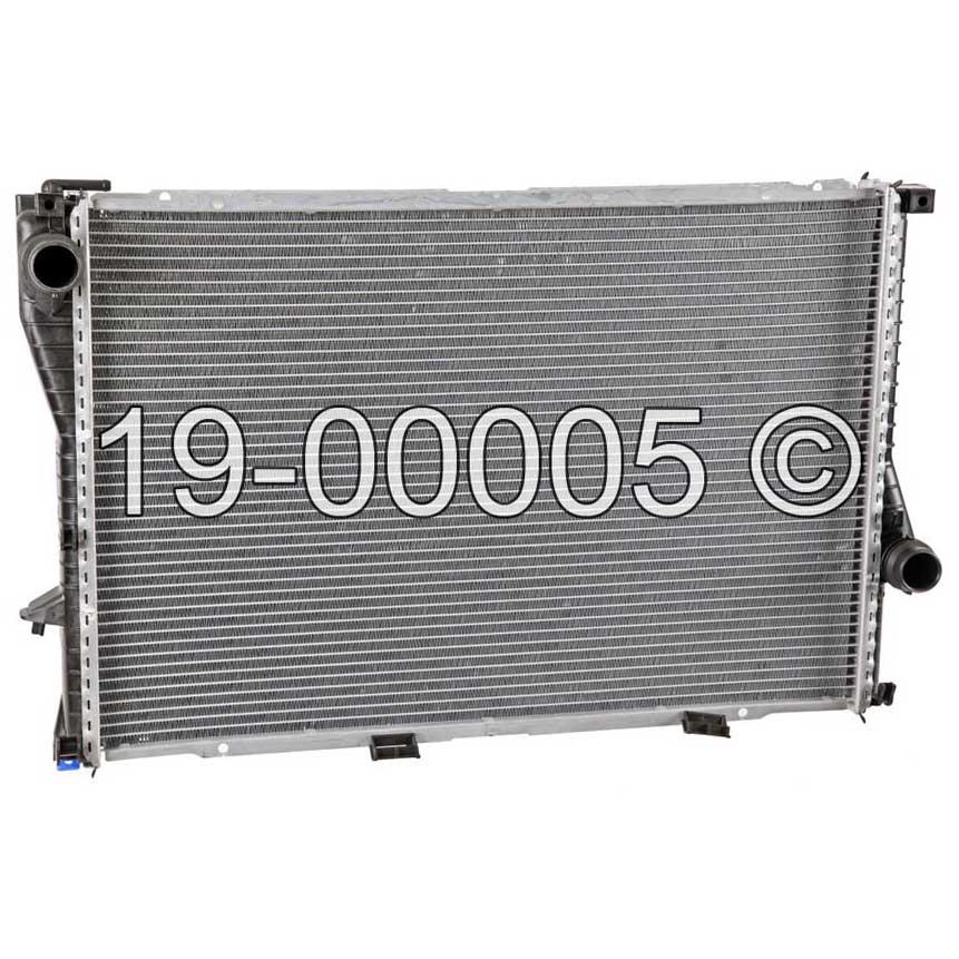 BMW 525                            RadiatorRadiator