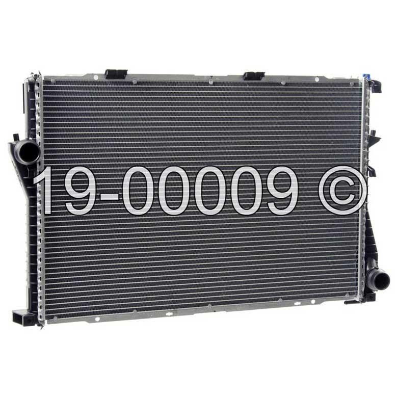 BMW 540                            RadiatorRadiator
