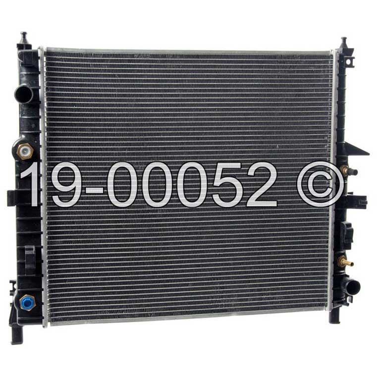 Mercedes_Benz ML55 AMG                       Radiator
