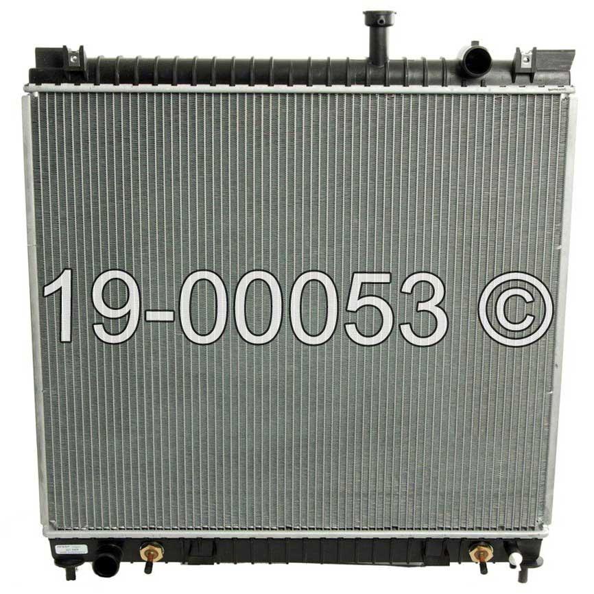 Infiniti QX56                           RadiatorRadiator