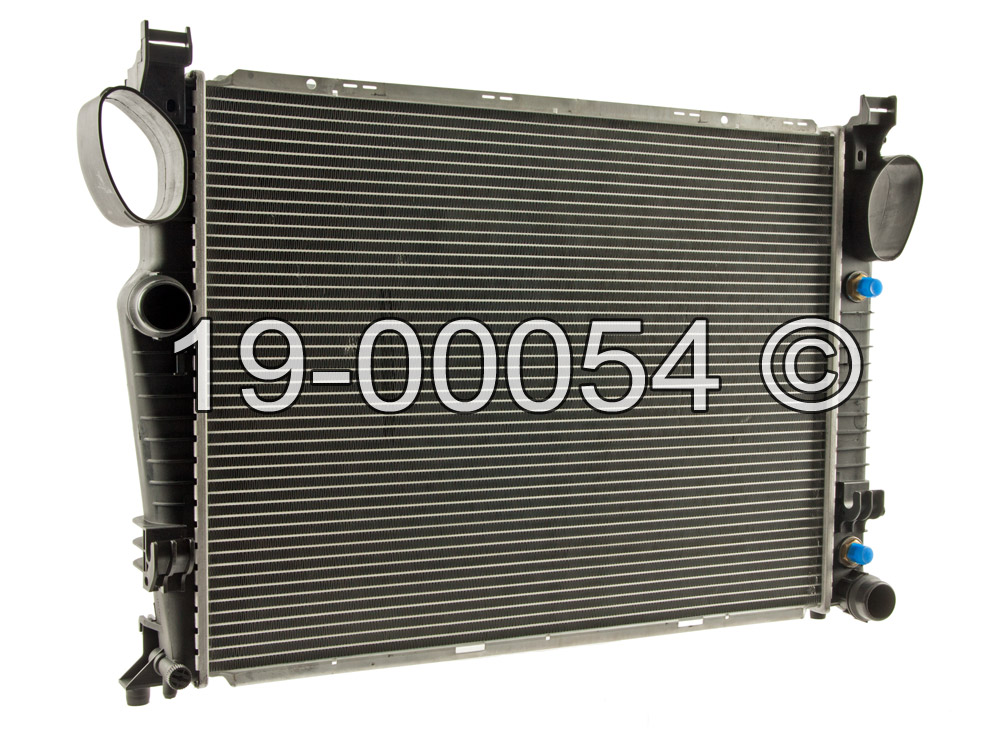 Mercedes_Benz SL65 AMG                       Radiator