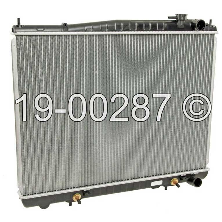 Infiniti QX4                            RadiatorRadiator