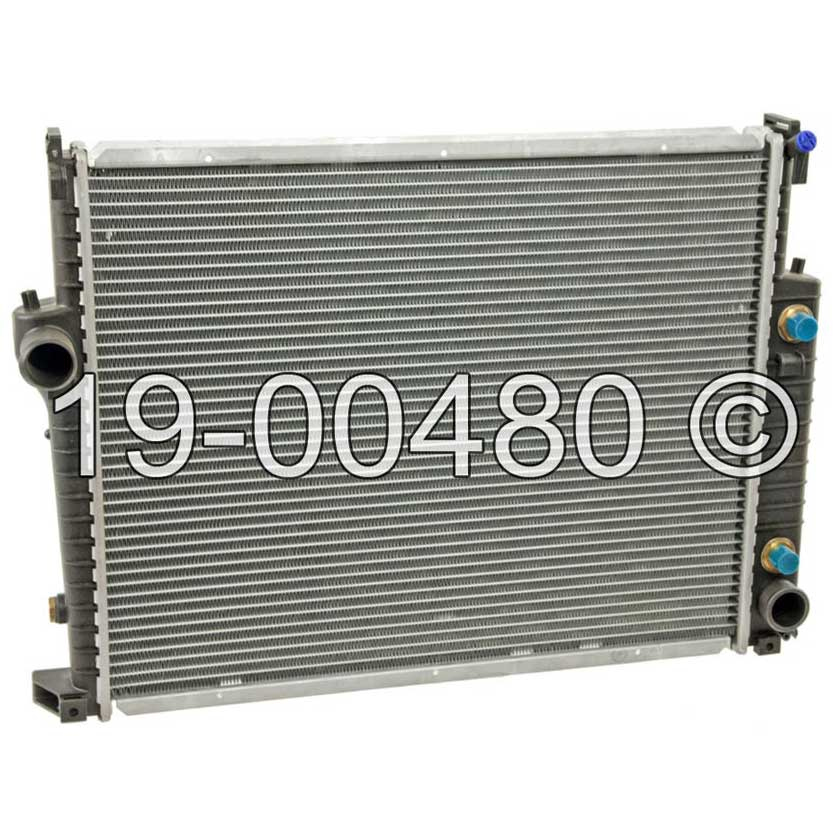 BMW 325iX                          Radiator