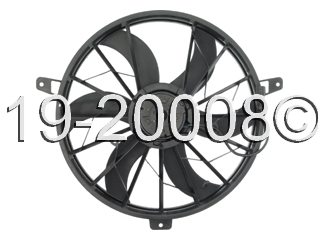 Jeep Grand Cherokee                 Cooling Fan AssemblyCooling Fan Assembly