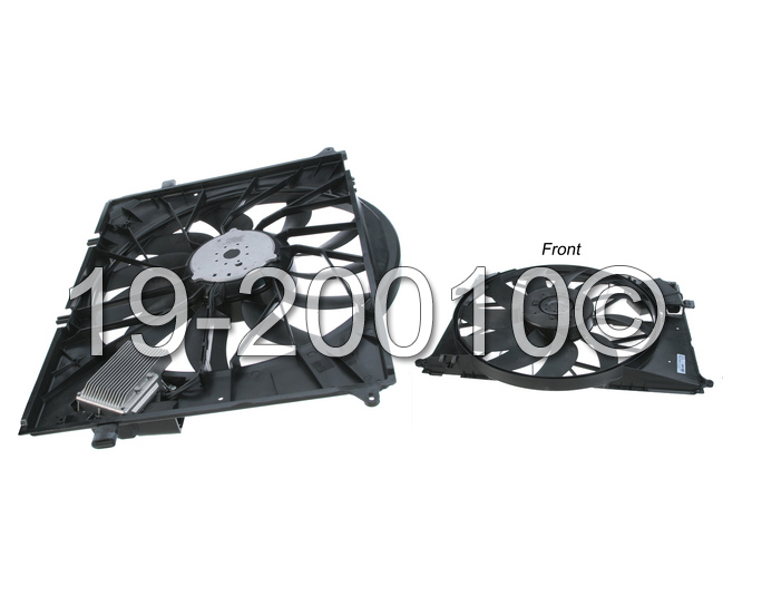 Mercedes_Benz SL65 AMG                       Cooling Fan AssemblyCooling Fan Assembly
