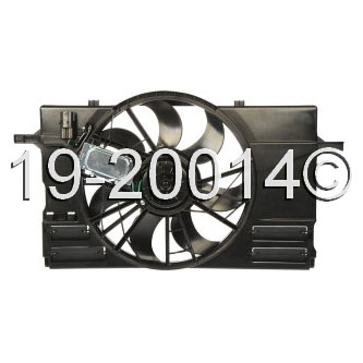 Volvo C30                            Cooling Fan Assembly