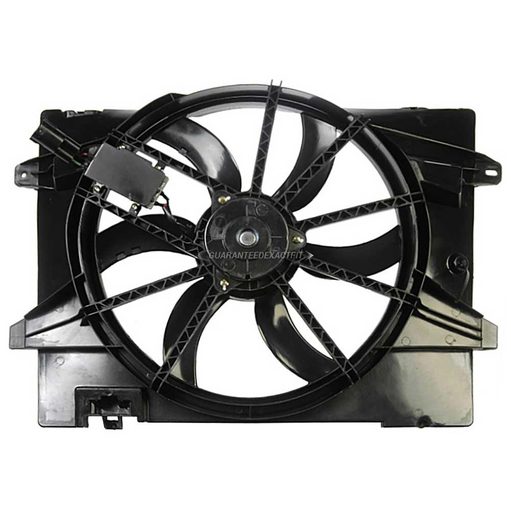 Lincoln Towncar                        Cooling Fan AssemblyCooling Fan Assembly