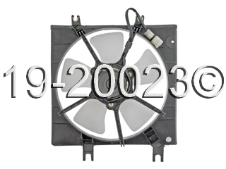 Ford Crown Victoria                 Cooling Fan AssemblyCooling Fan Assembly