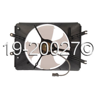 Acura MDX                            Cooling Fan AssemblyCooling Fan Assembly