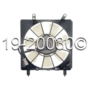 Acura RSX                            Cooling Fan AssemblyCooling Fan Assembly
