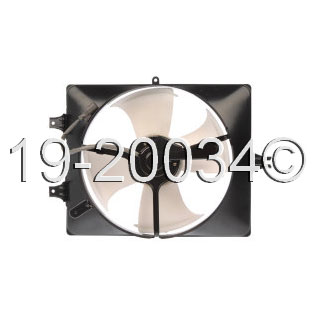 Acura TL                             Cooling Fan AssemblyCooling Fan Assembly