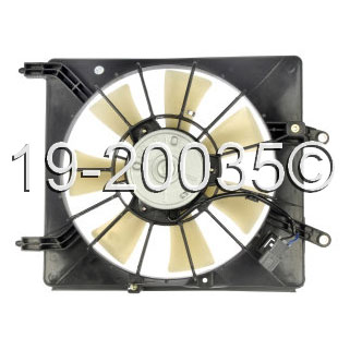 Acura TSX                            Cooling Fan AssemblyCooling Fan Assembly