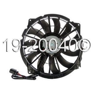 Audi S4                             Cooling Fan AssemblyCooling Fan Assembly