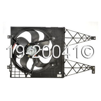 VW Golf                           Cooling Fan AssemblyCooling Fan Assembly