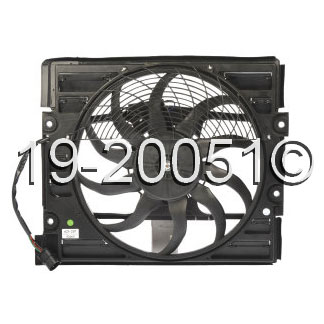 BMW 740                            Cooling Fan AssemblyCooling Fan Assembly