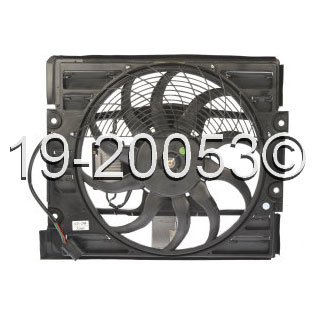 BMW 750iL                          Cooling Fan AssemblyCooling Fan Assembly