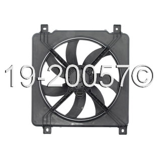 Oldsmobile Cutlass Ciera                  Cooling Fan AssemblyCooling Fan Assembly