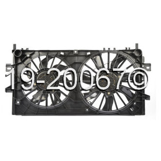 Buick LaCrosse                       Cooling Fan AssemblyCooling Fan Assembly