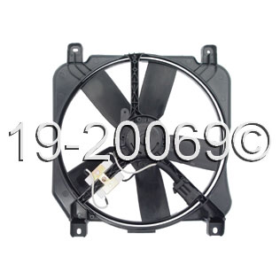Oldsmobile Delta 88                       Cooling Fan AssemblyCooling Fan Assembly