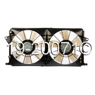 Cadillac DTS                            Cooling Fan AssemblyCooling Fan Assembly