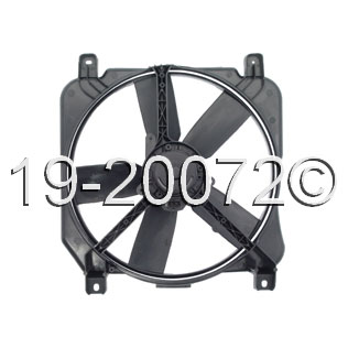 Cadillac Fleetwood                      Cooling Fan AssemblyCooling Fan Assembly
