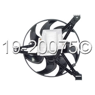 Buick Regal                          Cooling Fan AssemblyCooling Fan Assembly