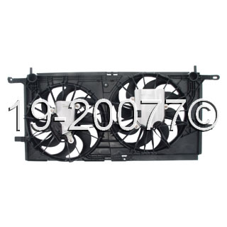 Buick Rendezvous                     Cooling Fan AssemblyCooling Fan Assembly