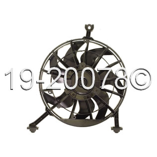 Oldsmobile Achieva                        Cooling Fan AssemblyCooling Fan Assembly
