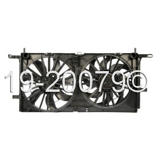 Buick Terraza                        Cooling Fan AssemblyCooling Fan Assembly