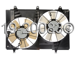 Cadillac CTS                            Cooling Fan AssemblyCooling Fan Assembly