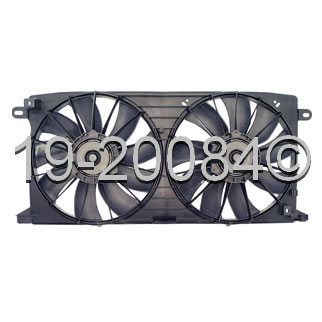 Cadillac Deville                        Cooling Fan AssemblyCooling Fan Assembly