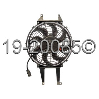 Chevrolet Blazer Full-Size               Cooling Fan AssemblyCooling Fan Assembly