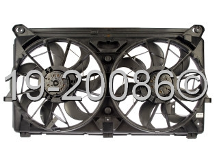GMC Sierra                         Cooling Fan AssemblyCooling Fan Assembly