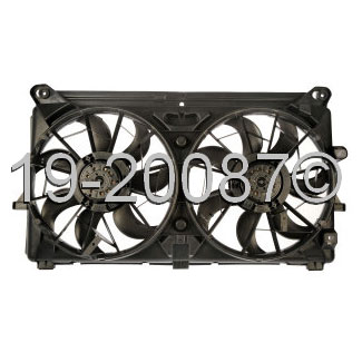 Chevrolet Avalanche                      Cooling Fan AssemblyCooling Fan Assembly